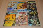 lot 6 albums Spécial CONAN n°1 3 4 5 9 10 et 11 - Semic Marvel Comics