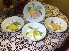 "WILLIAMS SONOMA Citrus 7.5"" Soup/Cereal Bowls NIB"