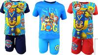 Boys PAW PATROL Disney Characters Short Sleeves T.shirt+Shorts Set,2 3 4 5 6 8YR