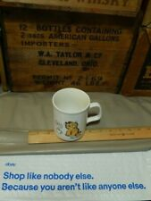 "Garfield by Jim Davis {Enesco Brand} Mug ""I Like My Coffee To Sit up and Bark"""