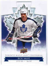 2017 UD TORONTO MAPLE LEAFS CENTENNIAL BLUE DIE-CUT CARDS 1-100 U-Pick from List