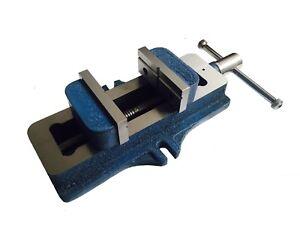 "RDG 100MM / 4"" SELF CENTERING MACHINE VICE BLUE TYPE VICE ENGINEERING TOOLS"