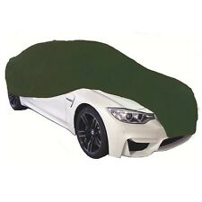 Cosmos Indoor Car Cover MEDIUM Green Supersoft Breathable Dustproof Garage