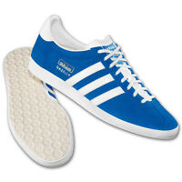 adidas ORIGINALS GAZELLE OG TRAINERS MENS SIZES 7 8 9 10 11 BLUE SNEAKERS SHOES