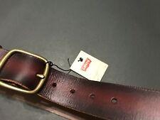 Levis leather belt for men Size : 32 Color : Brown Was $39