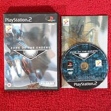 ZONE OF THE ENDERS - PlayStation 2 PS2 ~ PAL ~ 15 + Action jeu