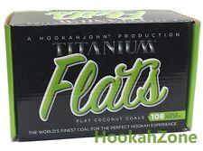 108 Pcs HJ Titanium Coconut Coal Hookah Charcoal Coco Shisha Nara 1KG Chronic
