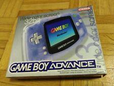 Game Boy Advance, Farbe: Transparent Clear Blue, neuwertiger Zustand, inkl. OVP