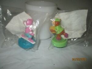 WENDY'S 1 KIDS MEAL TOY SNAGLEPUSS  ROLLER 1990 VINTAGE COLLECTIBLE