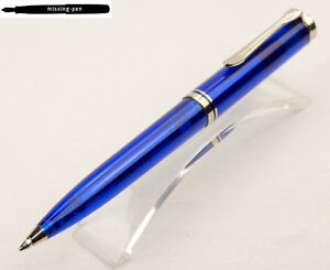 Pelikan Ballpoint Pen K605 Marine Blue Transparent Special Edition from 2013