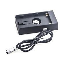 Power Supply Adapter Plate BP for BPU30/U60/U90 Battery to Blackmagic BMCC BMPCC