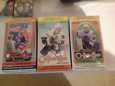 2011/12 - 2012/13 - 2013/14. O-PEE-CHE. 3 box lot fact seald retail boxes