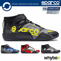 New! 001261 Sparco Apex RB-7 Race Motorsport Leather Ankle Boots FIA Fireproof
