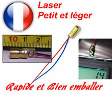 Diode Laser 5v, 6mm, Dot, Rouge. Arduino, Pi, DIY..