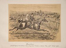 FINCH MASON FOX-HUNTING RIDING England Caricature Hunter Hunting Floreat Etona