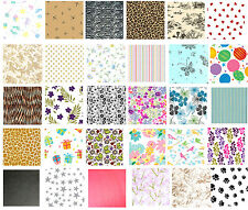 Printed Patterned Tissue Wrapping Paper luxury 5 sheets - 30 designs you choose