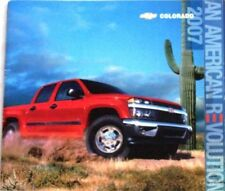 2007 07 Chevrolet Colorado original sales brochure MINT