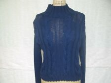 VICTORIA'S SECRET MODA INT'L CABLE KNITTED TURTLENECK SWEATER SZ S NWOT!