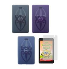 TPU Gel Skin Cover Case and Screen Protector for Dell Venue 8 Pro 5830 Tablet