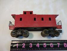 RED CABOOSE TRAIN CAR