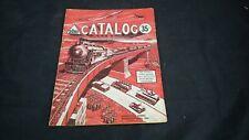 AHM TOY CATALOG 1963 TRAINS,BUILDINGS,VEHICLES,KITS,PLANES,MILITARY ETC
