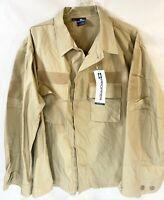Propper Tactical Shirt XL Khaki Beige Patch Receivers