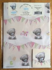 'Baby Girl' Me To You Wrapping Paper - 2 Sheets & Tags - 69x50cm - Gift Wrap