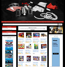Amazon Affiliate Ready Made Website Automated Magic Tricks Store Work from Home
