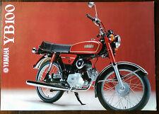 Yamaha YB100 1979 Brochure
