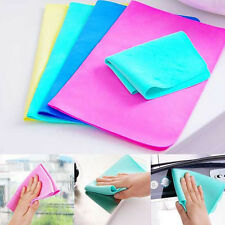 Magic Car Washing Wipe Towel Cloth Absorber Synthetic Chamois Leather Good