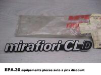 LOGO MONOGRAMME FIAT 131 MIRAFIORI CL D - 5924986