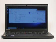 "Lenovo Thinkpad T440s 14"" Core i7-4600U 2.10GHz 8GB 256GB Laptop; TIG 617192"