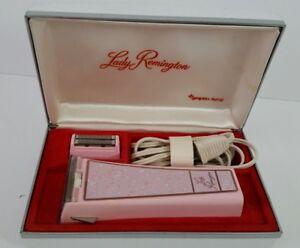 Vintage PINK LADY REMINGTON Shaver Underarm Attachment Works Excellent Condition