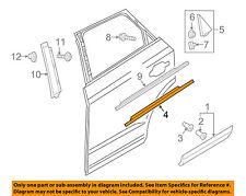 AUDI OEM 15-16 Q3 Quattro Rear-Window Sweep Belt Felt Molding Left 8U08537632ZZ
