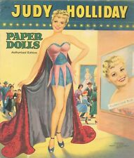 VNTG 1954 JUDY HOLIDAY PAPER DOLL LASER REPRODUCTIN~Org SZ UNCT FREE SH NO1 SELR