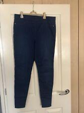 Ladies Matalan Blue Jeggings Size 14