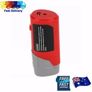 USB Adapter Battery For Milwaukee 12V 49-24-2310 48-59-1201 M12 Heated Jacket AU