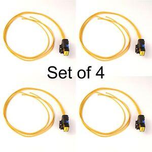 Pressure Sensor Plug / Connector pre-wired for Delphi 9307514A in Peugeot x 4