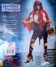 Lil' Dead Riding Hood Red Halloween Costume Dress Outift Unhappily Everafter