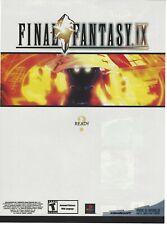 Final Fantasy IX Print Ad/Poster Art Playstation PS1 (A)
