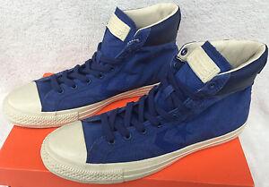 Converse Komatsu Star Player HI 142122C Blu Missoni Nylon Varvatos Shoes Men's 9