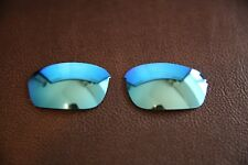 PolarLenz POLARIZED Ice Blue Replacement Lens for-Oakley Half Wire 2.0