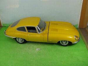 vintage monogram model kit car jaguar xke (e type) 1/8 built collectable 1058