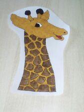 Window Color Bild Giraffen kopf links