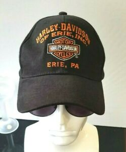 Harley-Davidson Motor Cycles Of Erie, Inc Erie, PA Nostalgic Hat Excellent Cap
