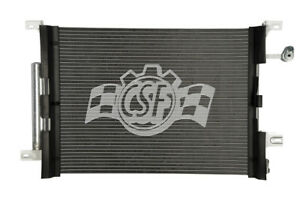 A/C Condenser-Aluminum Parallel Flow CSF 10660 fits 10-14 Ford Mustang 3.7L-V6