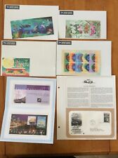 Lot 6 Unused Australian stamps Sheets And First Day Issues
