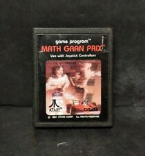 Math Gran Prix (Atari 2600, 1982) Cart Only