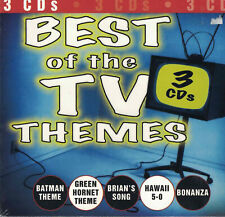 "BEST of the TV THEMES  ""NEW""  3 CD Box Set"