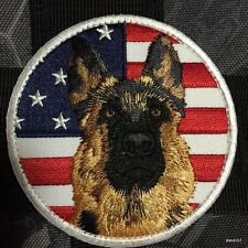 Iron on Sheepdog K9 Morale PATCH GSD k-9 German TEAM DOG SHEPHERD train OPS USA
